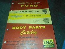 NOS 1953 - 1957 FORD PASSENGER CAR TRUCK MASTER PARTS CATALOG W PART NUMBERS