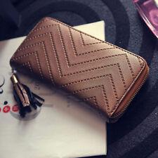 New Fashion Women Leather Card Holder Wallet Lady Long Handbag + FREE GIFT !!!