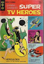 Scarce Gold Key Hanna Barbera Super TV  Heroes #4 VGF