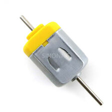 10pc 130 carbon brush motor long axis double shaft DC 3V-9V  high torque speed