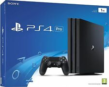 Sony PLAYSTATION 4 CONSOLE PRO ps4 Pro 1tb nero NUOVO OVP