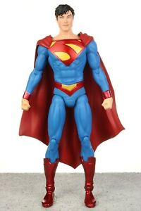 """Custom DC Collectibles Justice League New 52 Earth 2 SUPERMAN 6.5"""" Figure 2014"""
