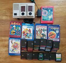 RARE Vintage 1982 Mattel Intellivision II w/ 42 Intellivision Games