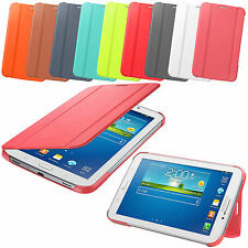 "Smart Leather Tablet Folding Stand Case Cover For Samsung Galaxy Tab 3 7"" 8"" 10"""