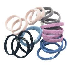 20pcs Women Girls Flat Hair Band Ties Rope Elastic Hairband Ponytail Holder