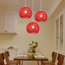 Kitchen Pendant Light Home Red Lamp Bar Pendant Lighting Modern Ceiling  Lights