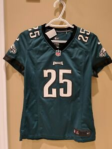 Women's LeSean McCoy Nike On Field Game Eagles Jersey Size Small Pre-Owned