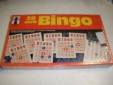 New Bingo 20 Card Vintage Game 1987 Rainbow Works Sealed