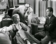 "JUDY HOLLIDAY & WILLIAM HOLDEN IN ""BORN YESTERDAY"" CRAWFORD  8X10 PHOTO (DA-777)"