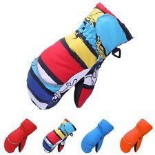 New Kids Winter Ski Gloves Child Toddler Thicken Mitten Velvet Waterproof Glove