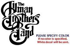 "Allman Brothers Metal Music Rock Band JDM Vinyl Sticker Decal Car Window Wall 6"""