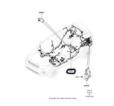 Genuine Land Rover Discovery Sport 2015 Main Body Wiring Harness - LR080223