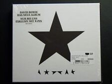 David Bowie Blackstar BLACK STAR CD MSD Exclusiv * PIN BOX NEW, SEALED, Last One
