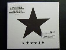 David Bowie ★ Blackstar CD Edition mit Stern-pin