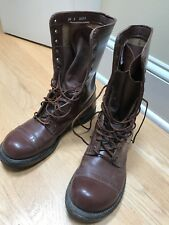 Vintage Corcoran Paratrooper Jump Boots - Military Brown
