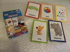 Little People Alphabet, 36 Learning cards by Fisher Price a through z Letters
