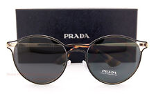 53361a04468 Brand New Prada Sunglasses PR 62SS 1AB 5S0 Black Gold Gray For Women