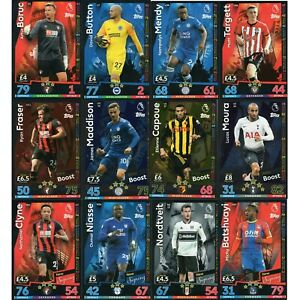 MATCH ATTAX EXTRA 2018/19 SQUAD UPDATE NEW SIGNING EXTRA BOOST 2+1 FREE