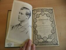 CORONATION 1937 WHITAKERS ALMANACK old antique encyclopaedia REFERENCE book