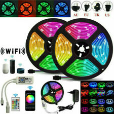LED Strip Light 5050 SMD RGB 30Leds/m Waterproof WIFI IR Controller 12V