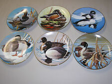 ROD LAWRENCE - NATURE'S HERITAGE - WATERFOUL OF AMERICA - ORIGINAL 6 PLATE SET.