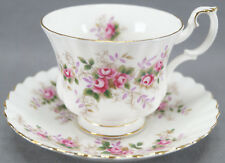 Royal Albert Lavender Rose Montrose Shape Bone China Tea Cup Circa 1961 - 2009