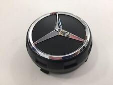 Mercedes-Benz Radnabenabdeckung für Alu AMG Design in schwarz matt mit Stern