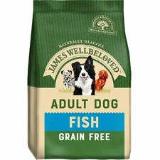 James Wellbeloved Adult Grain Free Dry Dog Food - Fish - 10kg