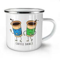 Coffee Dance Disco NEW Enamel Tea Mug 10 oz | Wellcoda