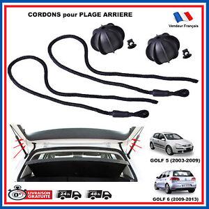 Lotto 2 Corda Spiaggia Posteriore Volkswagen Golf 5 6 V VI Tdi Gti = 1K6863447A