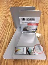 2 Umbra Conceal Invisible Shelf Wall Mount Floating Bookshelf Book Holder Decor