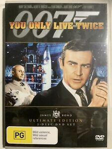 YOU ONLY LIVE TWICE - DVD Region 4 - Sean Connery Donald Pleasence