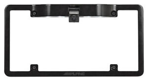ALPINE HCE-C1100 Rear View Backup HDR Car Camera w/License Plate Mounting Kit