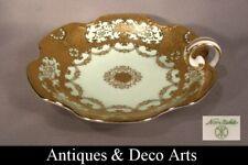 Noritake Porcelain Art Deco Bowl with Gold Decoration