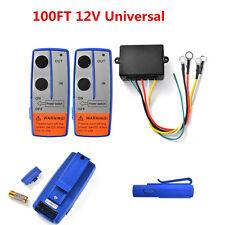 Universal Car Truck ATV 100ft 12V Wireless Winch Remote Control Switch Handset