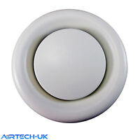 """Air Vent Ceiling Grill Grille Outet Inlet Ventilation Fan Duct Ducting 4"""" 5"""" 6"""""""