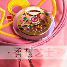 Sailor Moon 20th Anniversary Metal Compact Cosmetic Folded Mirror Cute Gift