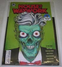HOUSE OF WAXWORK #1 BOOK & ORIGINAL SOUNDTRACK BLUE 7