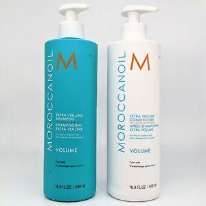 Moroccanoil Extra Volume Shampoo & Conditioner Duo 2x500ml NEW