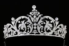 NEW Elegant Beauty Pageant Queen Rhinestone Bridal Wedding Prom Hair Tiara Crown