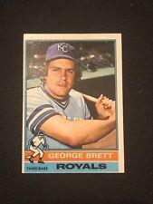 1976 Topps George Brett #19 NM Kansas City Royals HOF *11