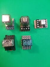 Relays misc brands and voltages. Guardian, Omron, AMF, Sigma, Lot price for 5