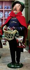 Byers Choice 2013 Vendor Cries of London Series Man Selling Glass Ornaments MINT