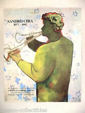 Sandro Chia - Nationalgalerie Berlin Art Gallery Exhibit  PRINT AD - 1992