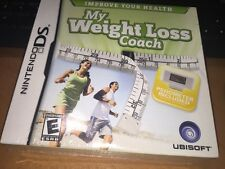 Nintendo DS My Weight Loss Coach Game w/ Pedometer Factory Sealed