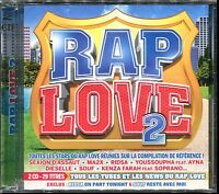 RAP LOVE 2 - CD COMPILATION NEUF ET SOUS CELLO
