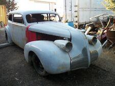 39 Buick custom hot rat street rod project car bagged 35 36 37 38 40 chevy