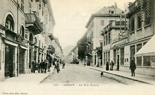 France Annecy - La Rue Royale old postcard