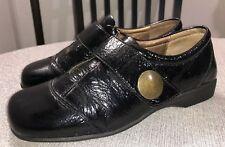 Josef Siebel Kathrin 68400 Black Patent Leather Comfort Shoe 39 Women's 8.5