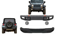 Metal Body Kit Bumper For Jeep Wrangler Rubicon JK 07-17 10th Anniversary Hard R